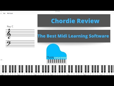 Chordie App Review | Midi Learning Software