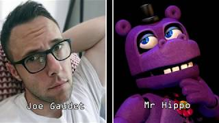 Five Nights at Freddy s Ultimate Custom Night All Voice Actors