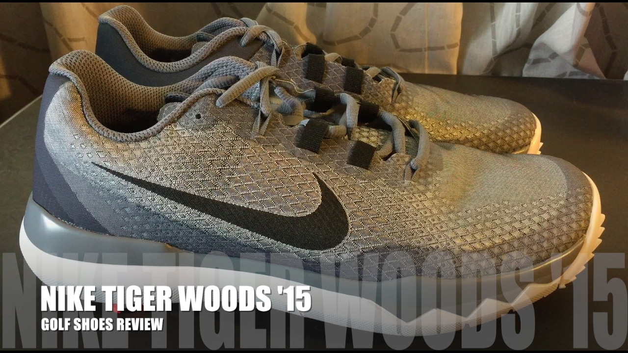 Nike Tiger Woods  15 Golf Shoes Review - YouTube 83b859d41