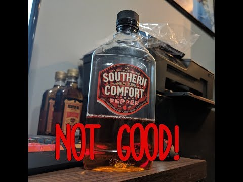 Southern Comfort Fiery Pepper Review! ( Worst Alcohol Ever!?!)