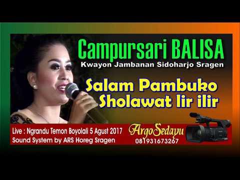 CAMPURSARI BALISA INDONESIA Pambuko Sholawat JOSS