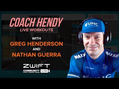 Coach Hendy Live Workouts - Episode 2: Dan Martin Mixer.