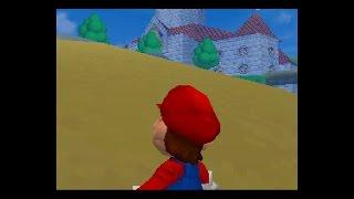 Super Mario 64 DS - Underground Pool Glitch