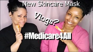 Medicare4All Vlogs New Face Mask Chit Chat Ep 50 FREESTYLE FRIDAY HAPPY NEW YEAR