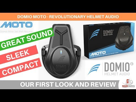 Domio Moto Helmet Audio Set | Our First Look And Review