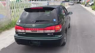 Видео-тест автомобиля Toyota Vista Ardeo (темно-зеленый, SV50-0017725, 3S-FSE, 1998г)