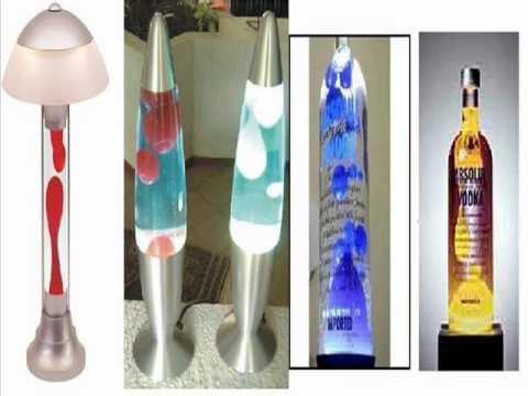 Diy how to decoraci n como hacer una lampara de lava o - Como hacer lamparas ...