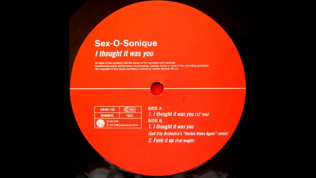 Sex o sonique i thought it was you