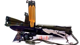 Обзор на Нож Выживание(Афигенный нож который поможет вам при ващих походах. Моё первое видео строго не судите. Я в Вк http://vk.com/stalkr..., 2015-10-15T09:32:26.000Z)