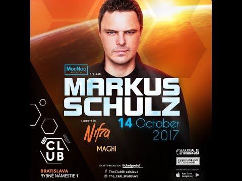 14. 10. 2017 - MARKUS SCHULZ at The Club / Bratislava [53 mins of set]