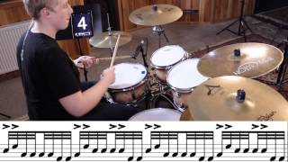 Mike Johnston Drum Lick Lesson