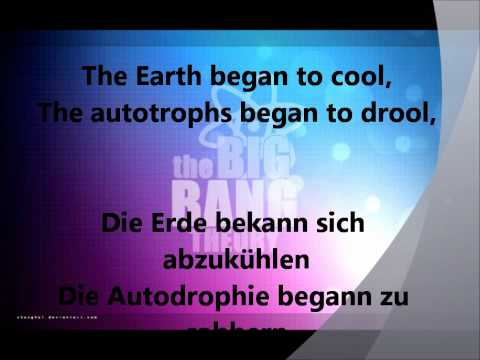 The Big Bang Theory Intro (German & English lyrics)