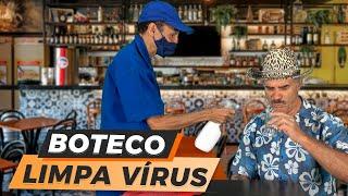 BOTECO LIMPA VIRUS | #ERROS DE GRAVAÇAO - HUMOR COM NILTON PINTO E TOM CARVALHO