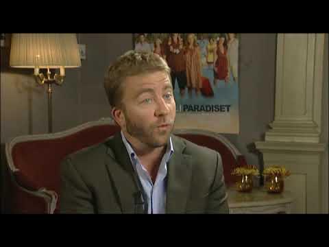 """Regissör Peter Billingsley inför filmen """"Trubbel i paradiset"""""""