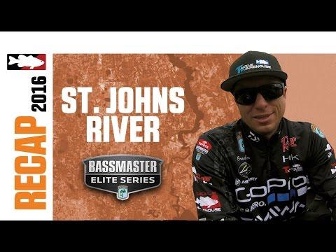 Brent Ehrler's 2016 BASS St. Johns River Recap