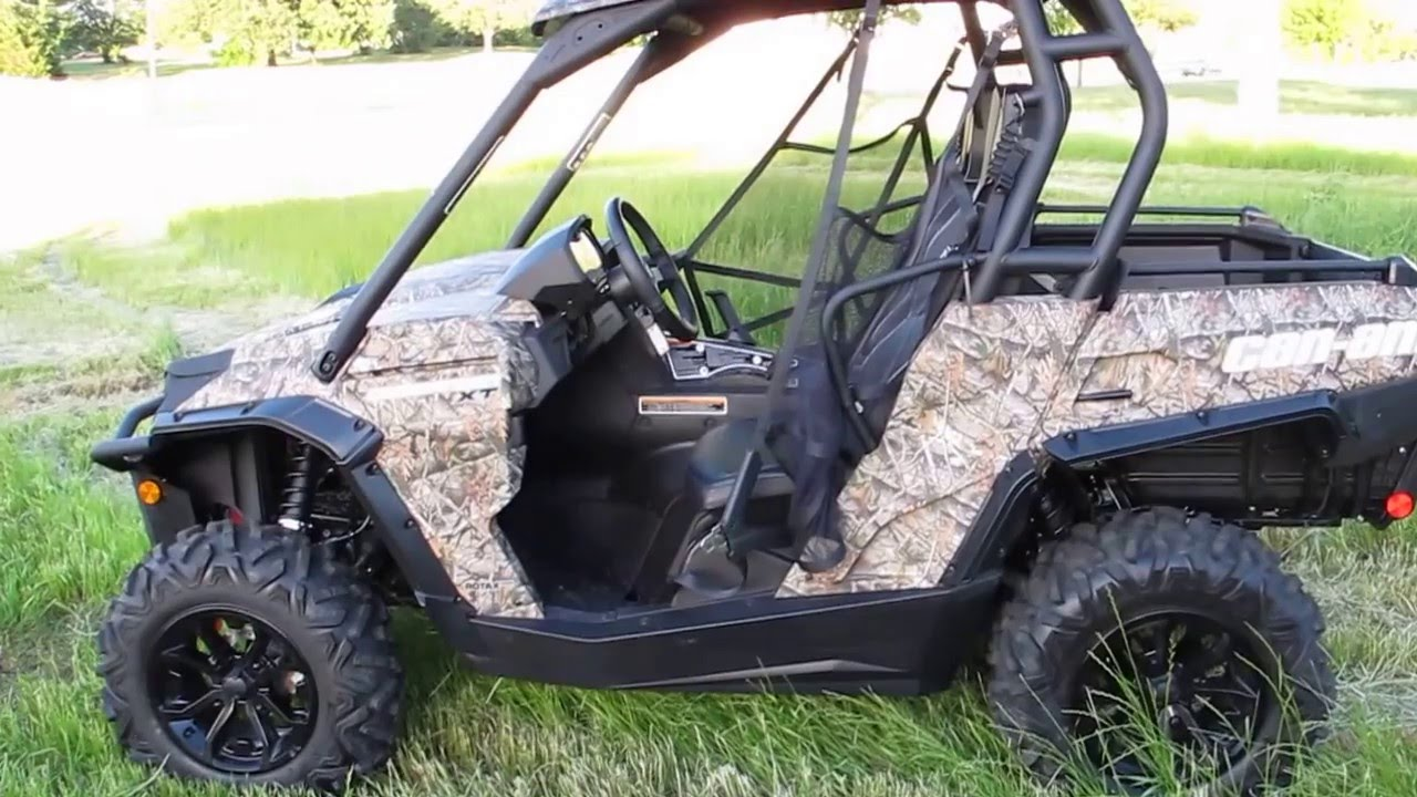 Can Am Commander For Sale >> 2015 Can Am Commander 800 Xt Camo Power Steering Only 58 Miles