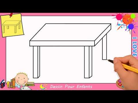 Table Dessiner Etape Comment Par Facile Une Dessin qSUpjLMGzV