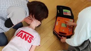 保育の救急訓練