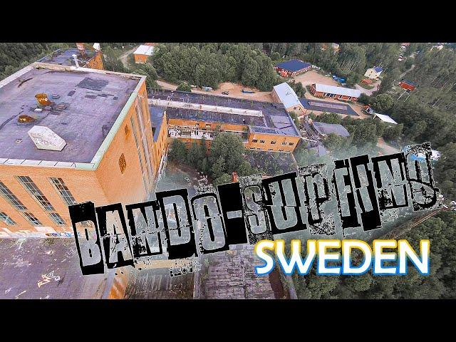 Bando-surfing in Sweden!