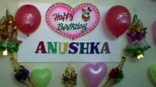 5 th HAPPY BIRTHDAY TO  ANUSHKA MANDAL(PUTU MADAM) ,ON (12- 12- 2010) AT AIR FORCE STATION YELAHANKA