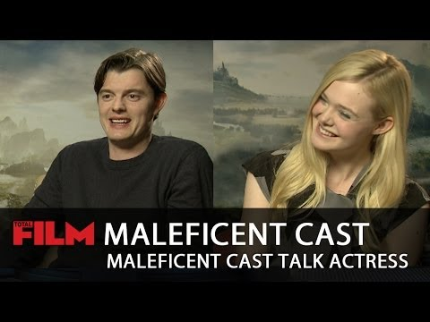 Maleficent cast on their funniest  moments