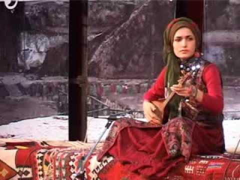 تنبور: فرشته جاویدمهر - جشنواره موسیقی محلی چهارمحال و بختیاری (تابستان ۱۳۹۱)