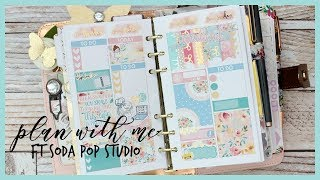 PLAN WITH ME ll PERSONAL PLANNER ll FT SODA POP STUDIO