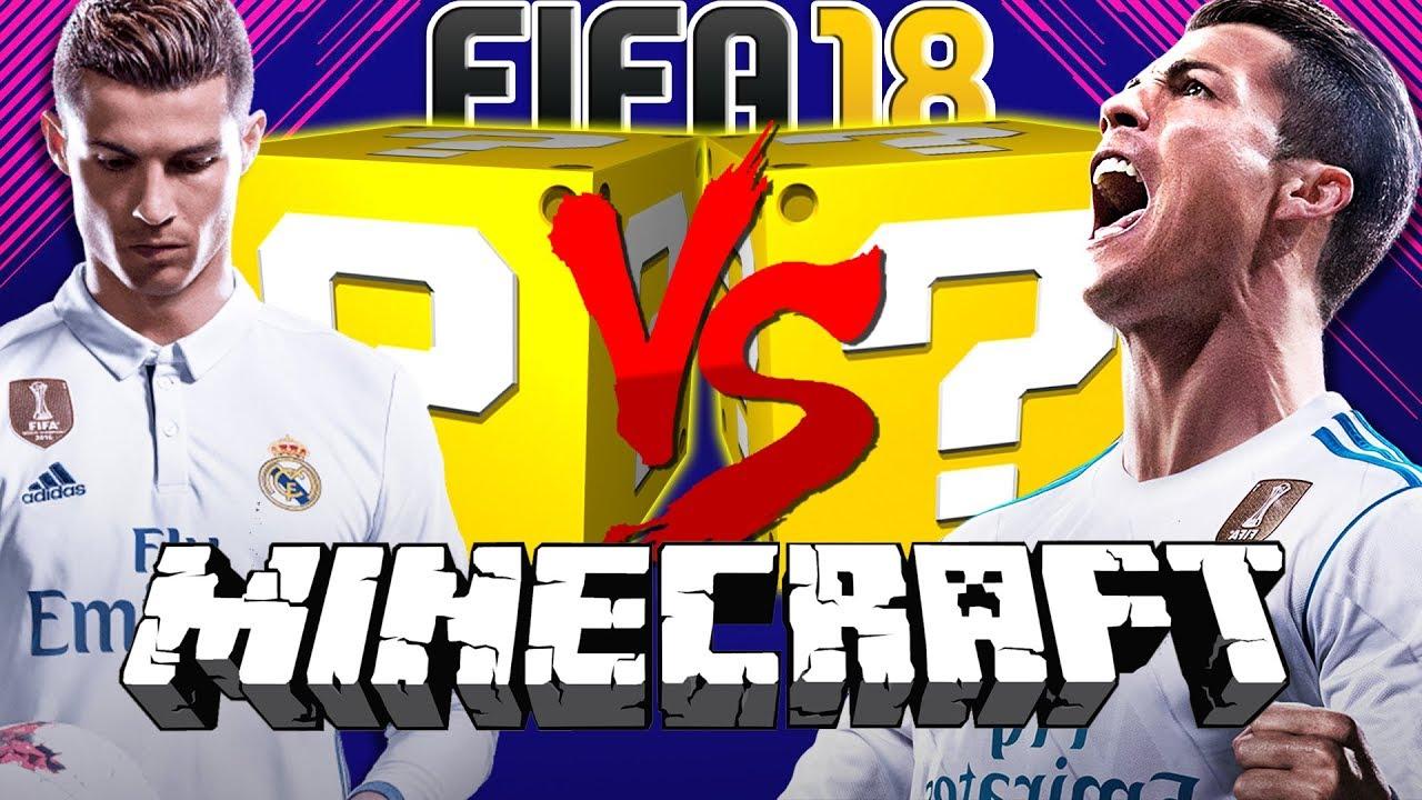 Minecraft: FIFA 18 LUCKY BLOCK CHALLENGE   BATTLE ROYALE!!