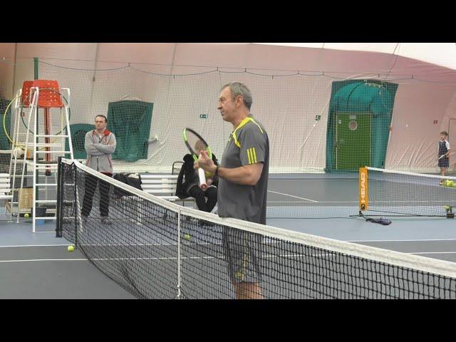 БЕЛАРУСЬ 4. Мастер-класс по теннису в Гомеле