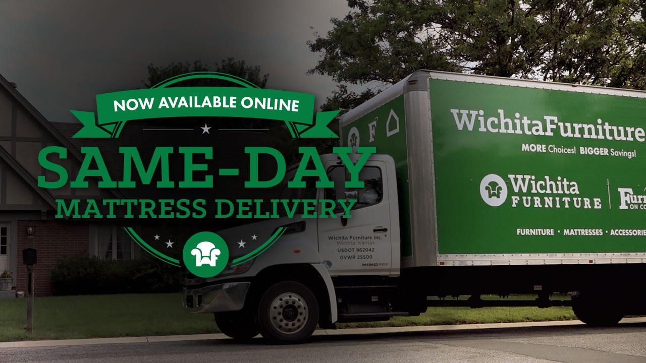 Same Day Mattress Delivery. Wichita Furniture