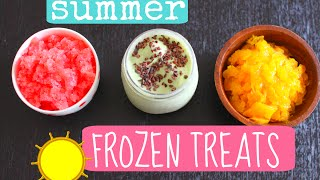 Diy Easy Summer Fruit Sherbets & Mint Ice Cream Recipe!