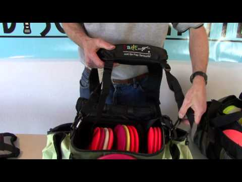 Disc Golf Back Pack Strap Comparison
