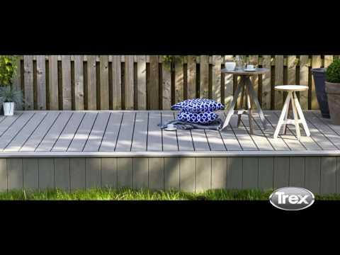 WPC Terrassendielen auf alten Betonplatten verlegen  T