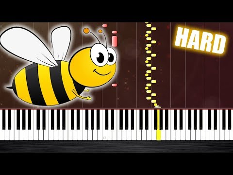 Flight of the Bumblebee - HARD Piano Tutorial by PlutaX