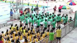 順德聯誼總會李兆基中學 Swimming gala 啦啦隊比