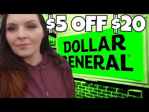 Hidden Dollar General $5 Coupon