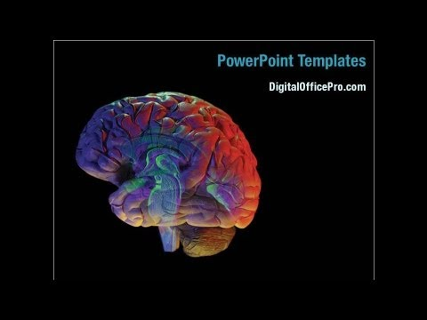 Brain Activity Powerpoint Template Backgrounds - Digitalofficepro