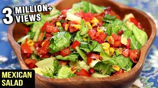 Mexican Salad - Healthy Salad Recipe - My Recipe Book With Tarika Singh