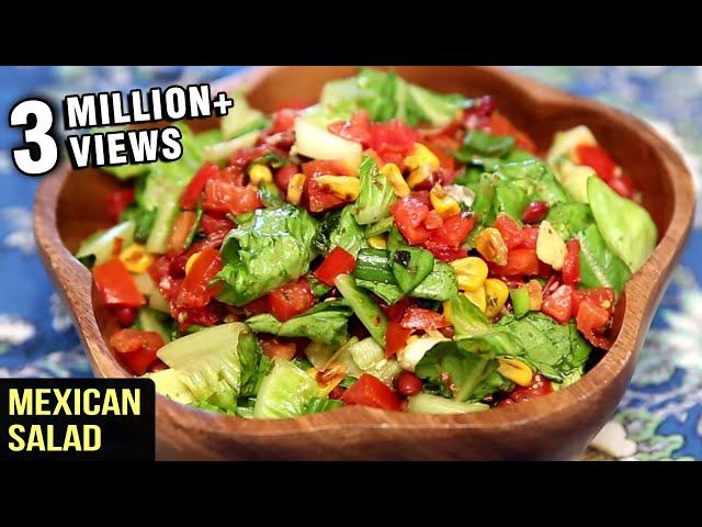 Healthy Mexican Salad Created by Get Curried
