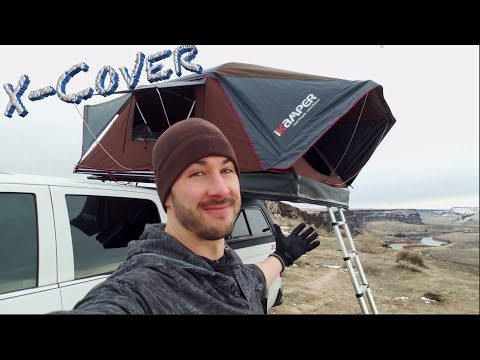 Worlds First Coverless Roof Top Tent ⛺️ The Ikamper X