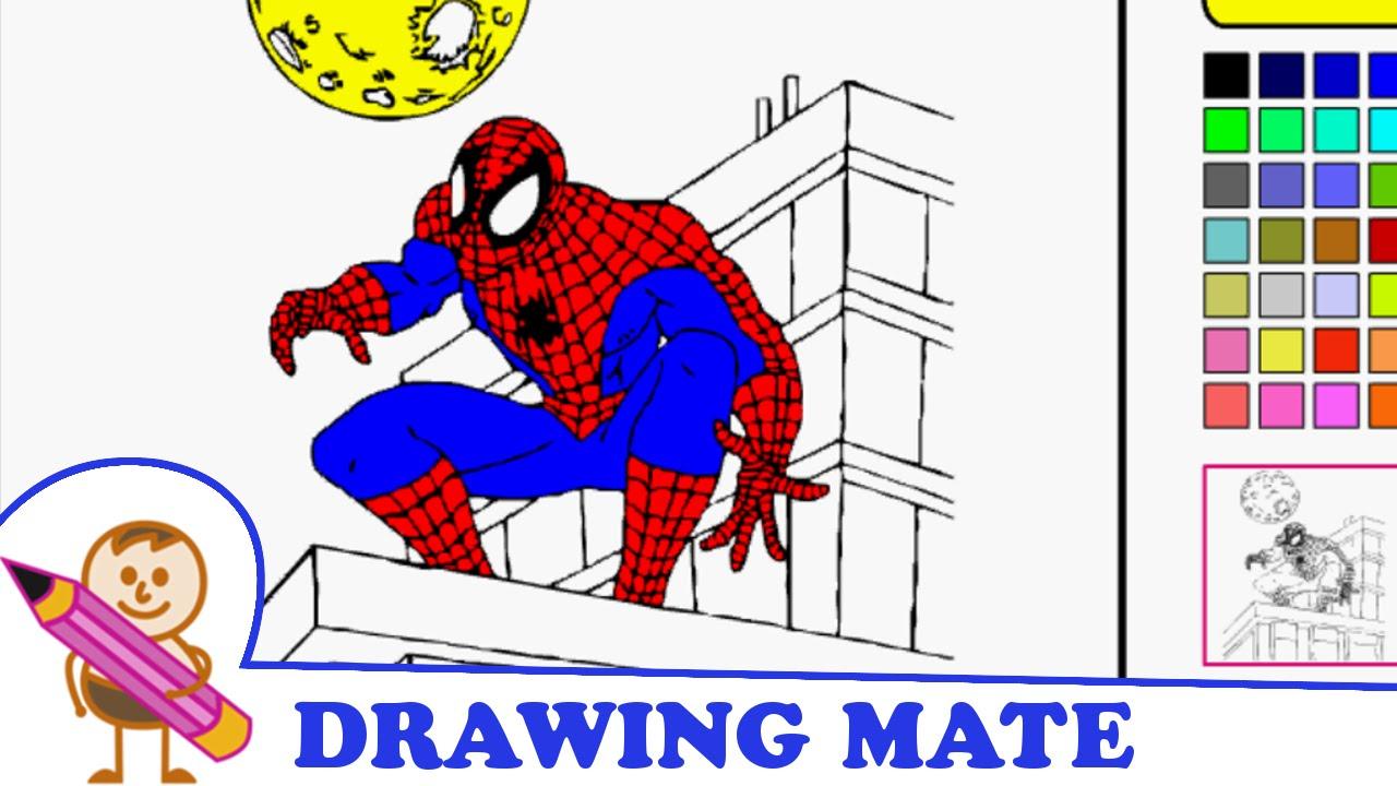 Spiderman Coloring Pages Kids Colouring Sheets ♥ Kolorowanki Dla