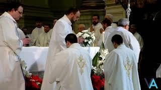 Ordenaciones Sacerdotales desde la S. I. Catedral de Granada