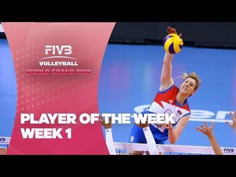 FIVB World Grand Prix: Week 1 - Player of the Week