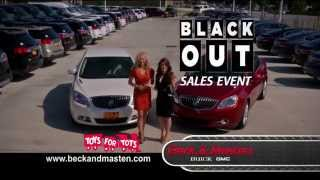 Beck & Masten Buick Black Out Sales Event