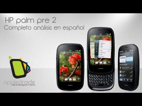 HP palm pre 2 completo análisis en español