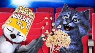 ПОШЛИ В КИНО / ПОБЕГ ИЗ КИНОТЕАТРА в РОБЛОКС / Escape the Zombie Movie Theater Obby! ROBLOX