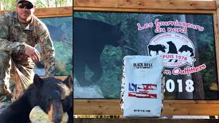 Northern Outfitters Val'Dor Quebec Black Bear hunting trip trailer