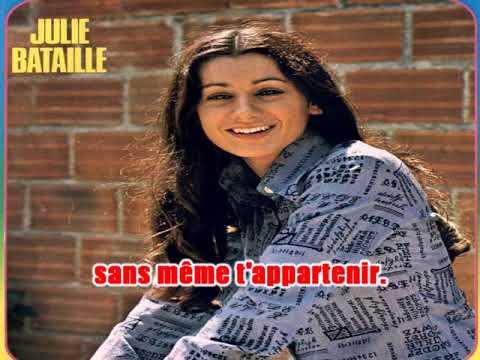 Karaoké Julie Bataille - La petite minette  1975
