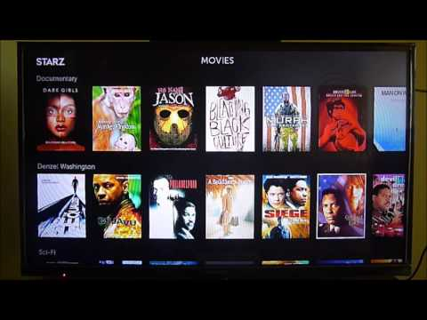 Starz Channel on Roku, another great option to Netflix