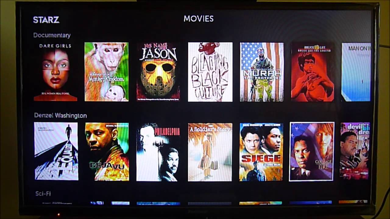 Starz Channel on Roku, another great option to Netflix - YouTube
